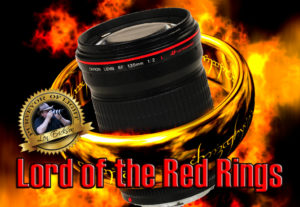 Canon EF 135mm f2 USM L-lens - The Lord of the Red Rings