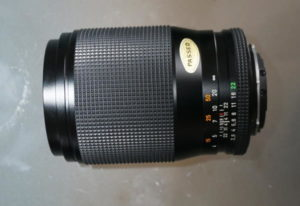 Carl Zeiss T* Sonnar C/Y 135mm f2.8 classic lens