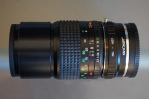 Minolta MD 135mm f2.8 (MD1 version, 4 lenses in 4 groups)