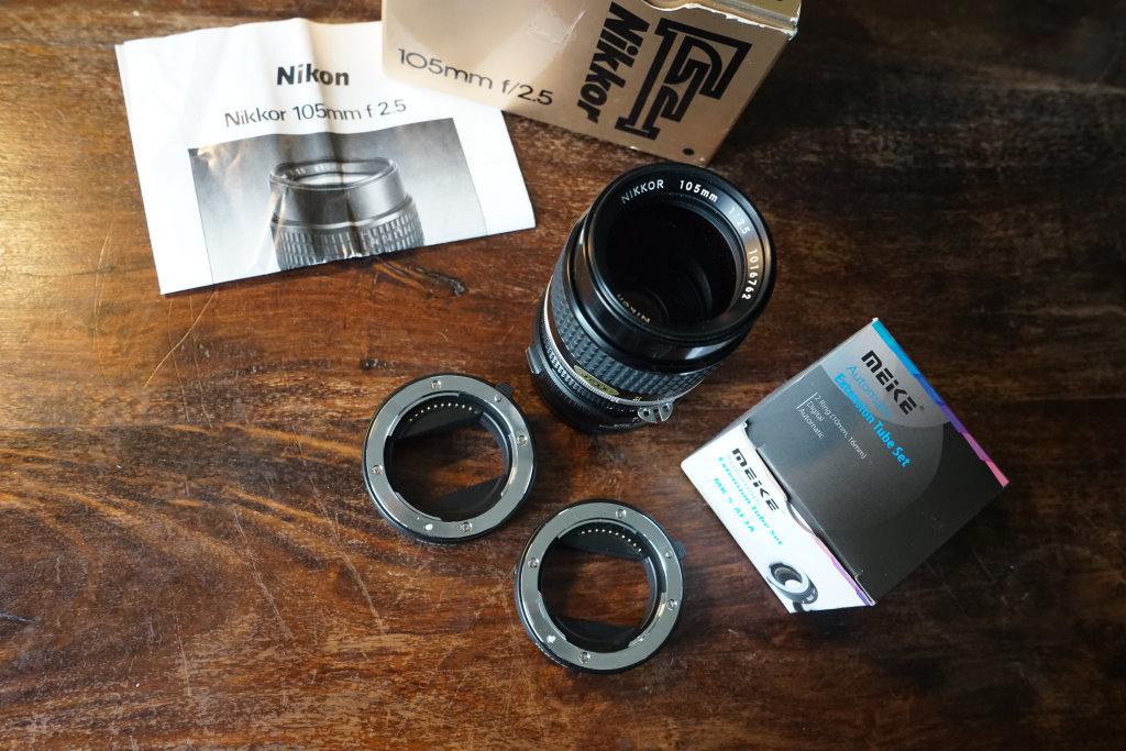 Nikkor Ai 105mm f2.5 classic lens
