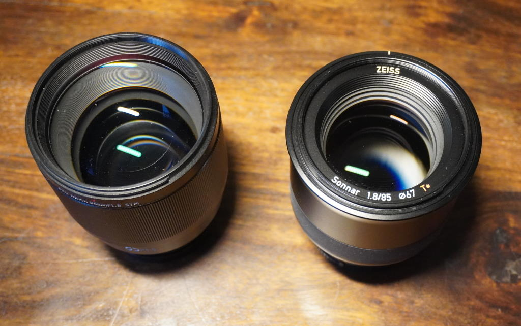 Zeiss Batis 85mm f1.8 lens with image stabilization