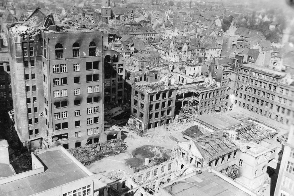 Bombed Zeiss Jena 1945