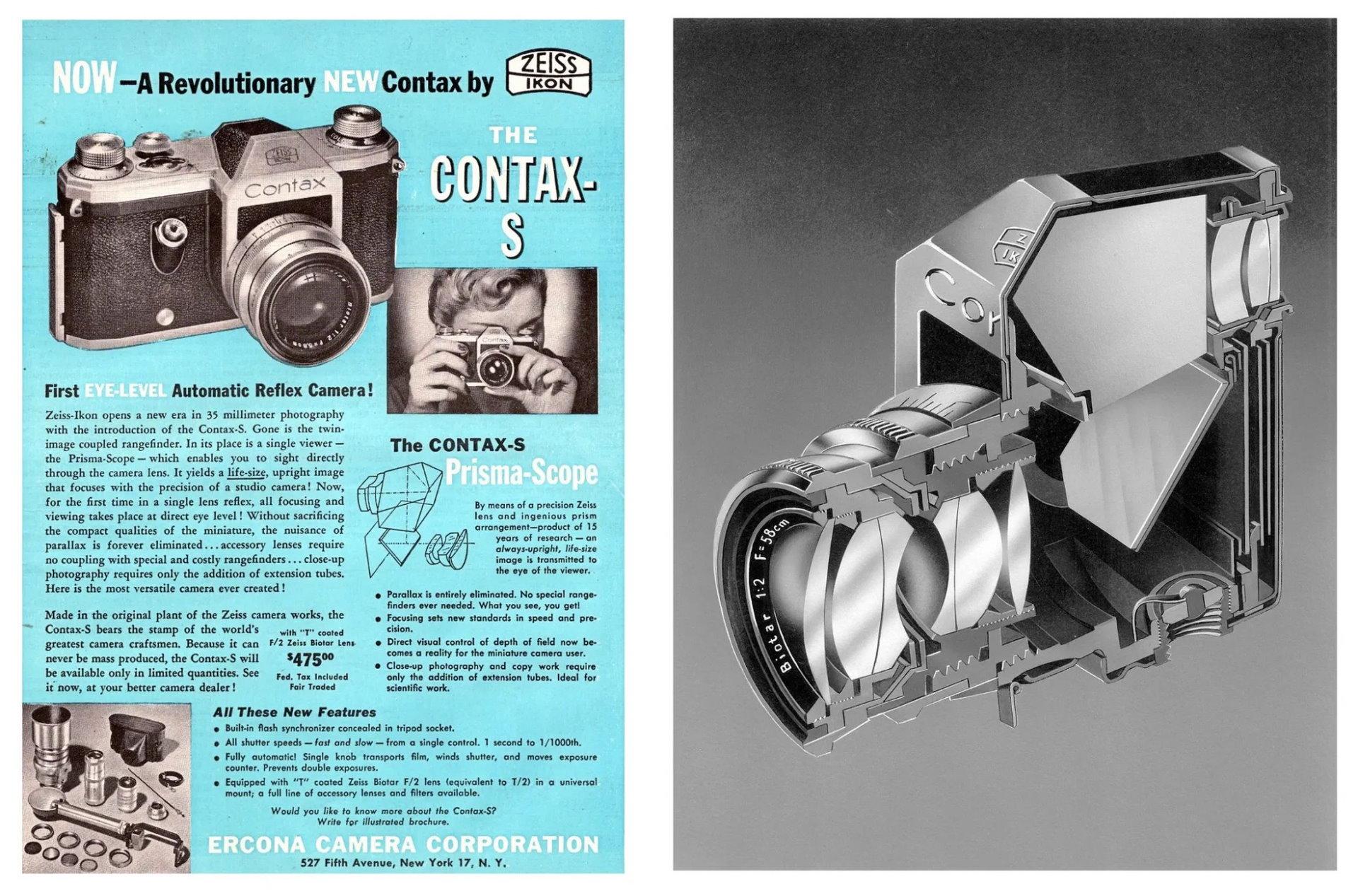 Biometar 58mm f/2 lens