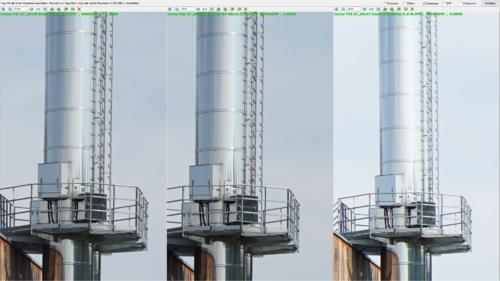 Corner sharpness Biotar 58mm f2 vs. Helios 44M-4 58mm f2 vs. Canon EF 50mm f1.8 STM at aperture f8
